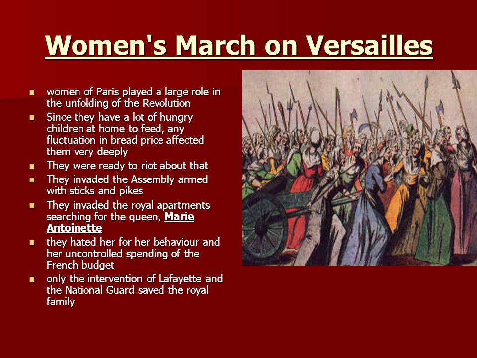 Women s March on Versailles