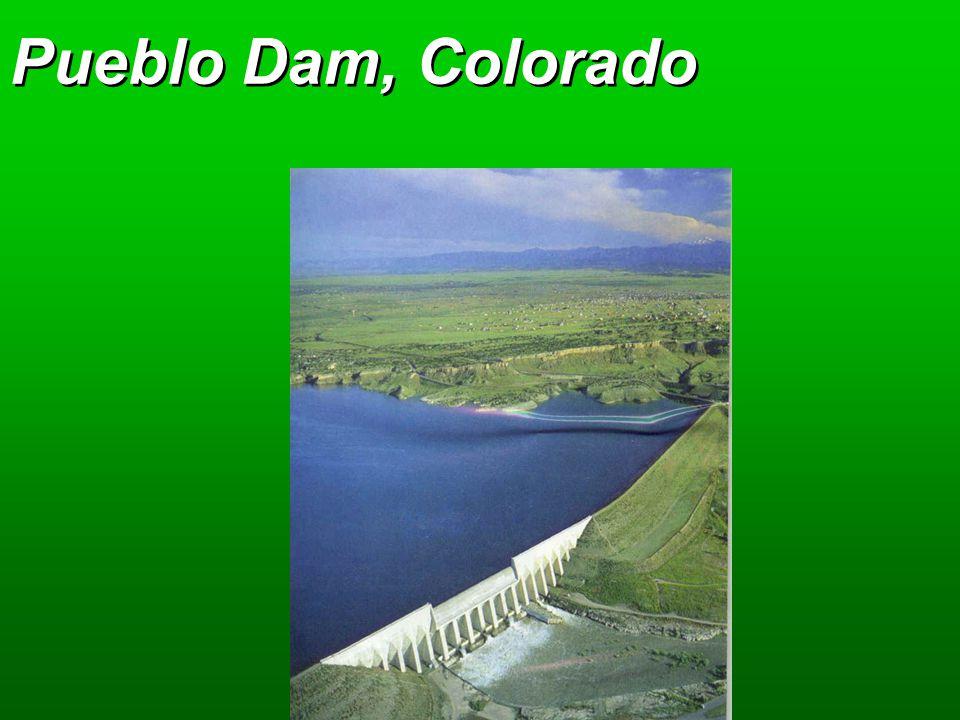 Pueblo Dam, Colorado