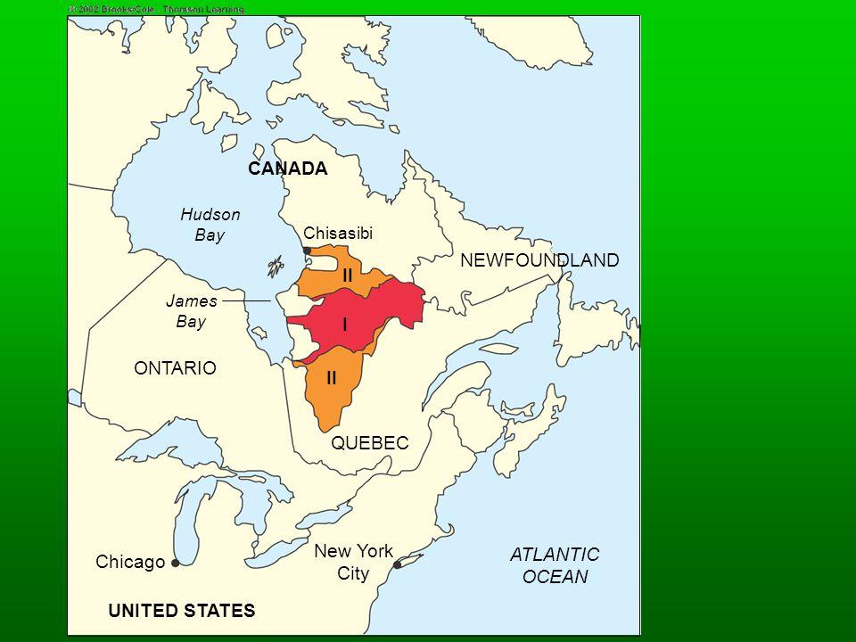 CANADA II I II UNITED STATES