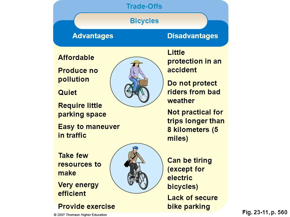 advantages and disadvantages electric bicycle vs Small bike wheels vs large bike wheels by max roman dilthey with so many different wheel sizes, it's important to know the advantages and disadvantages.