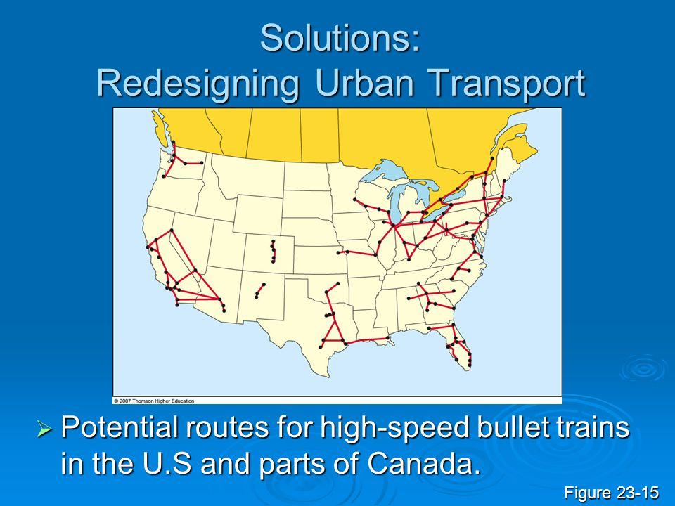 Solutions: Redesigning Urban Transport