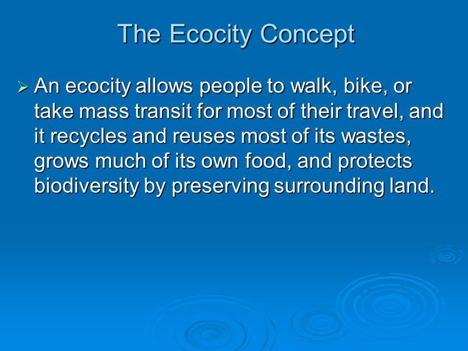 The Ecocity Concept
