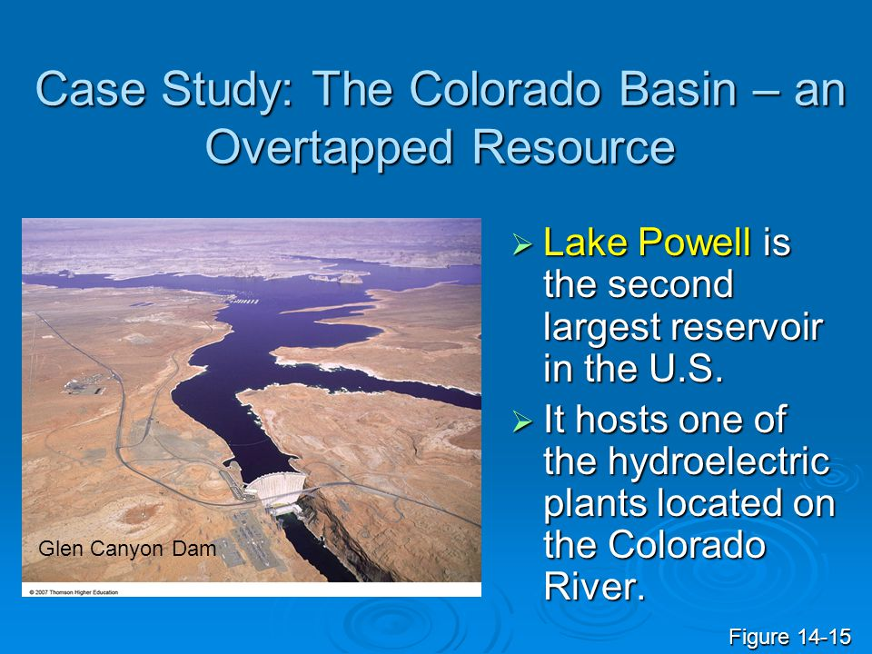 Case Study: The Colorado Basin – an Overtapped Resource