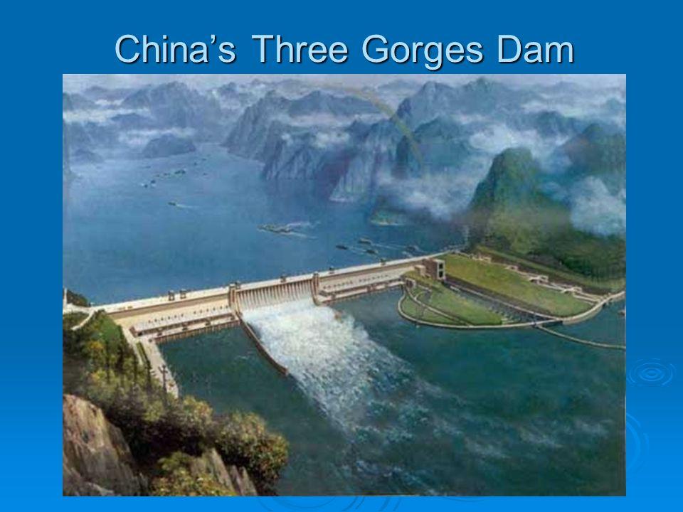 China's Three Gorges Dam