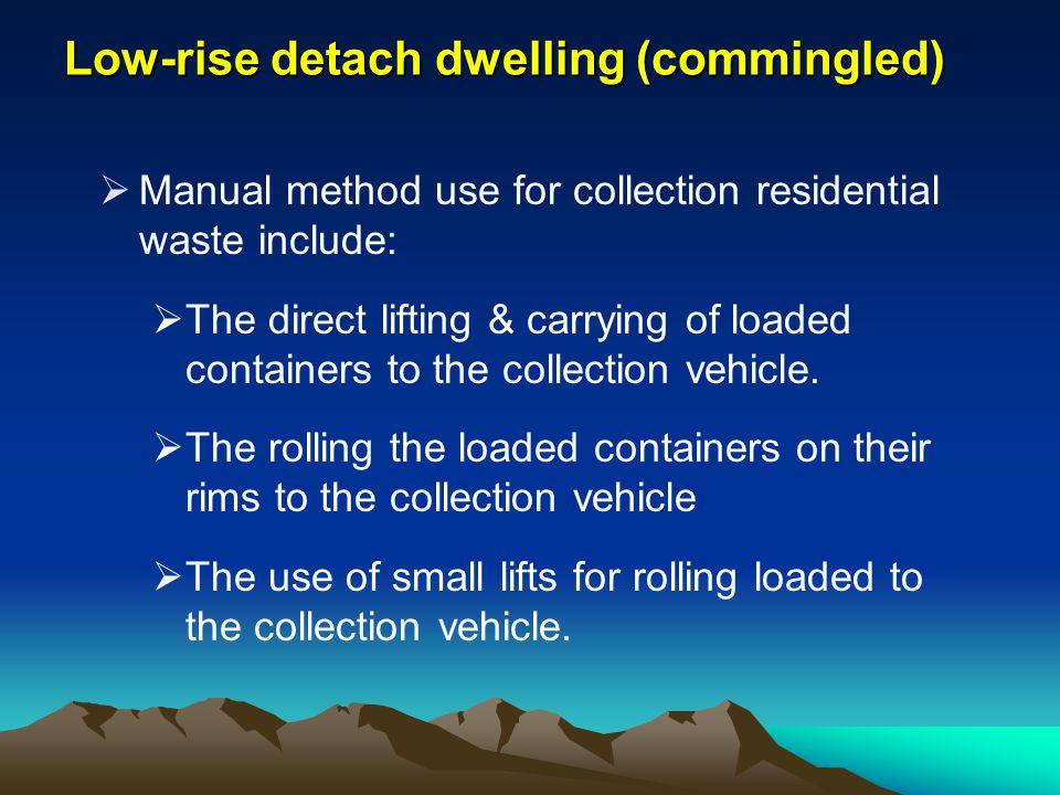 Low-rise detach dwelling (commingled)