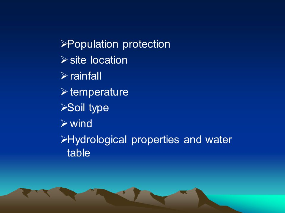 Population protection