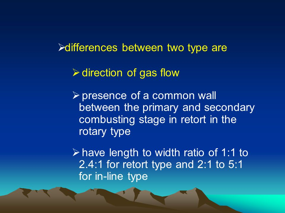 differences between two type are