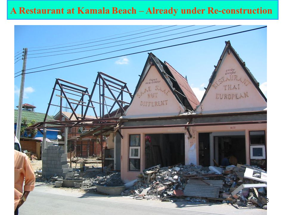 A Restaurant at Kamala Beach – Already under Re-construction