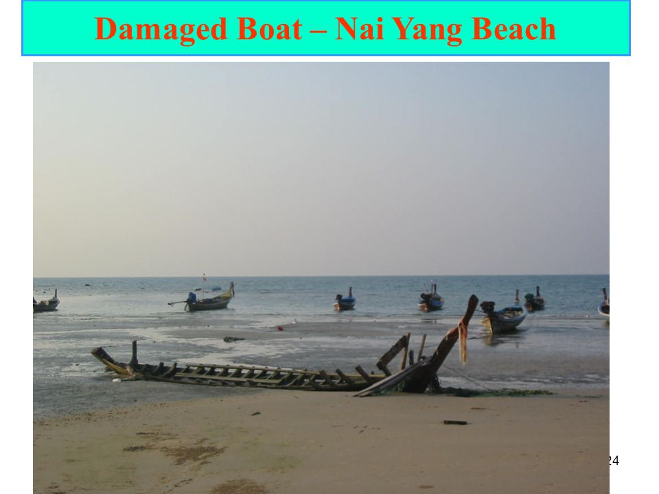 Damaged Boat – Nai Yang Beach