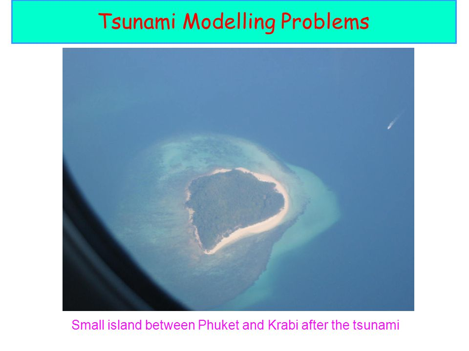 Tsunami Modelling Problems