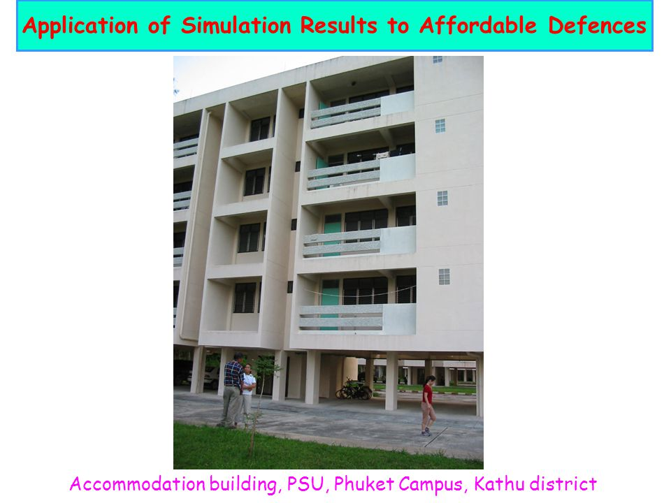 Application of Simulation Results to Affordable Defences