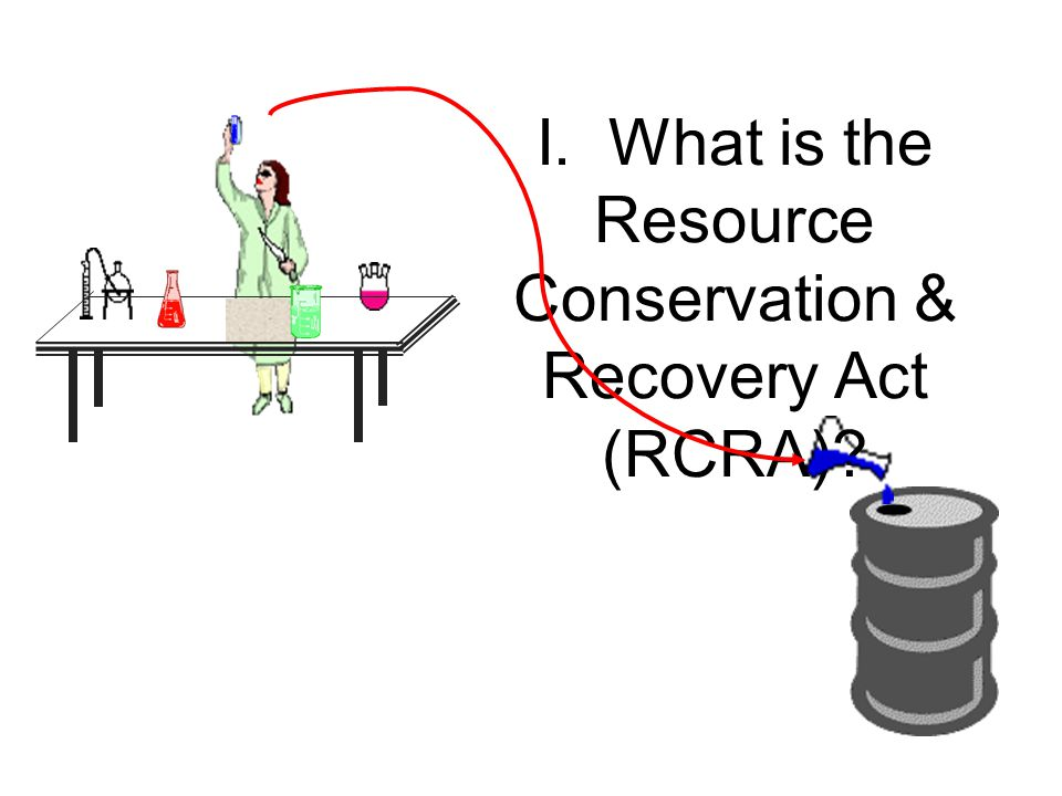 I. What is the Resource Conservation & Recovery Act (RCRA)