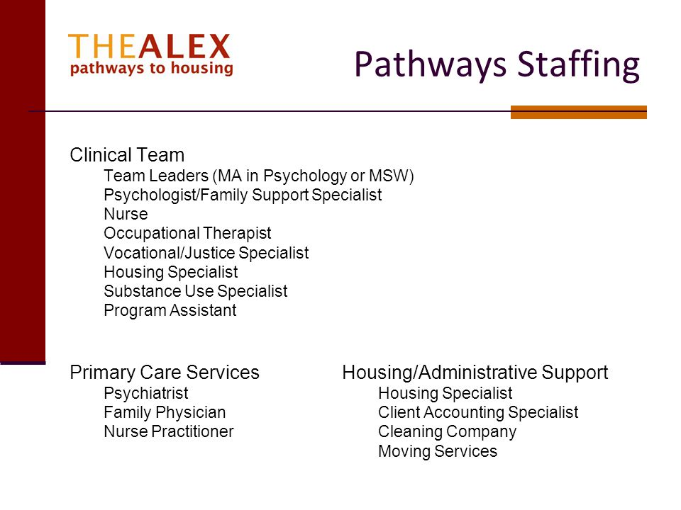 Pathways Staffing Clinical Team