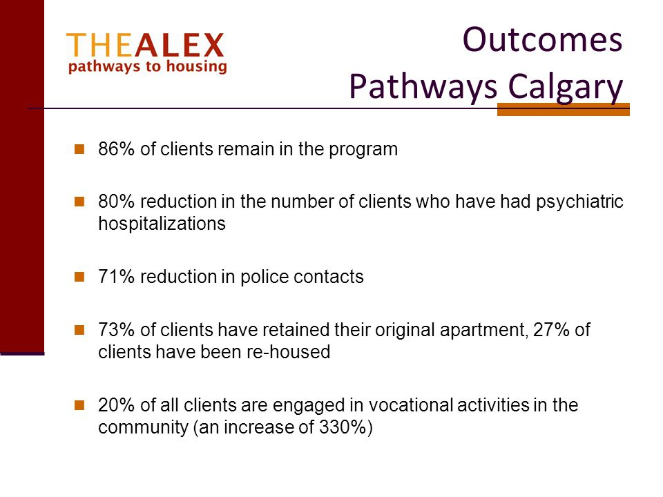 Outcomes Pathways Calgary