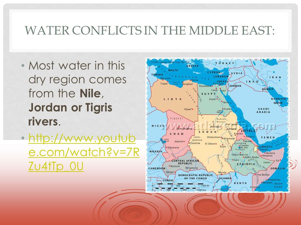 Water Conflicts in the Middle East: