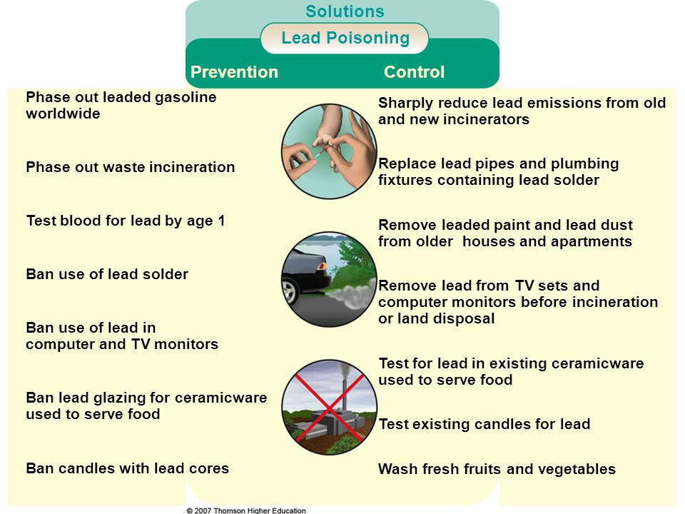 Solutions Lead Poisoning Prevention Control