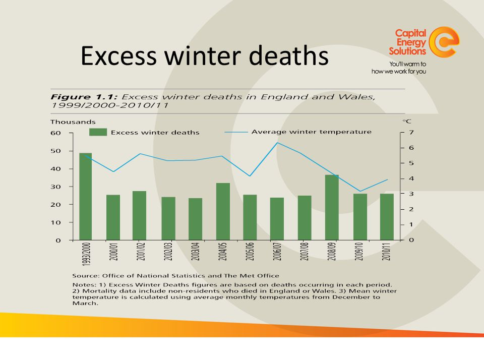 Excess winter deaths