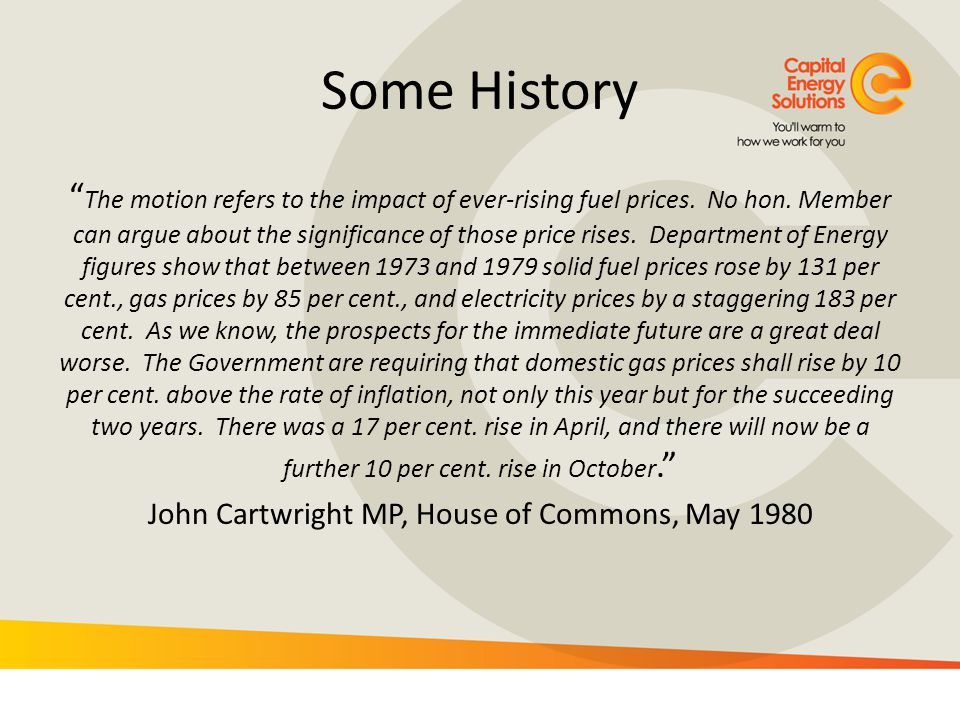 John Cartwright MP, House of Commons, May 1980