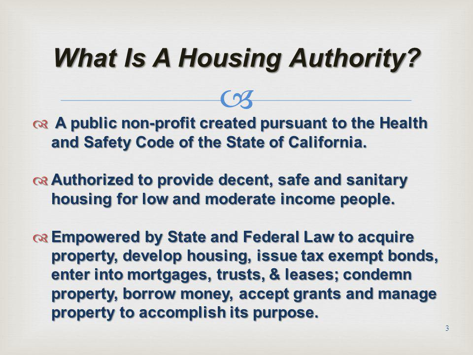 What Is A Housing Authority