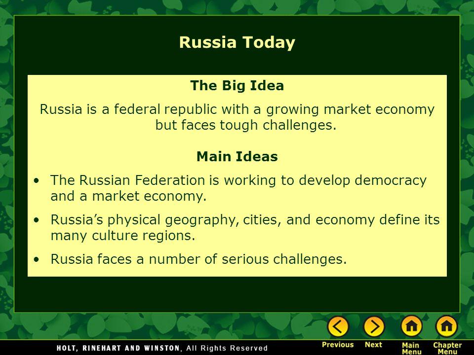 Russia Today The Big Idea