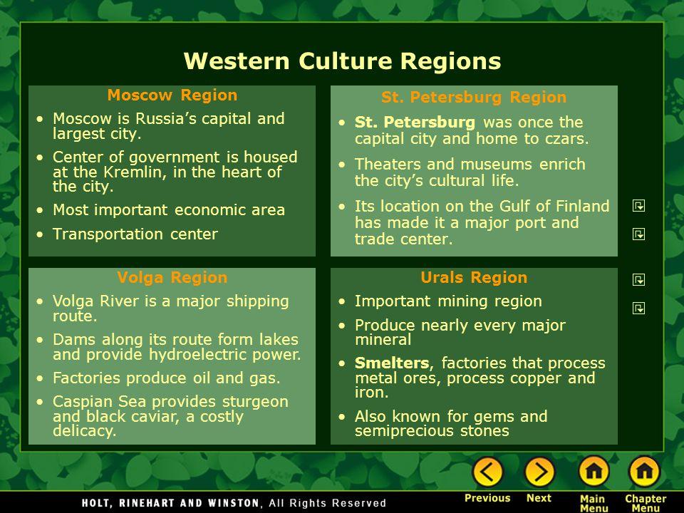 Western Culture Regions