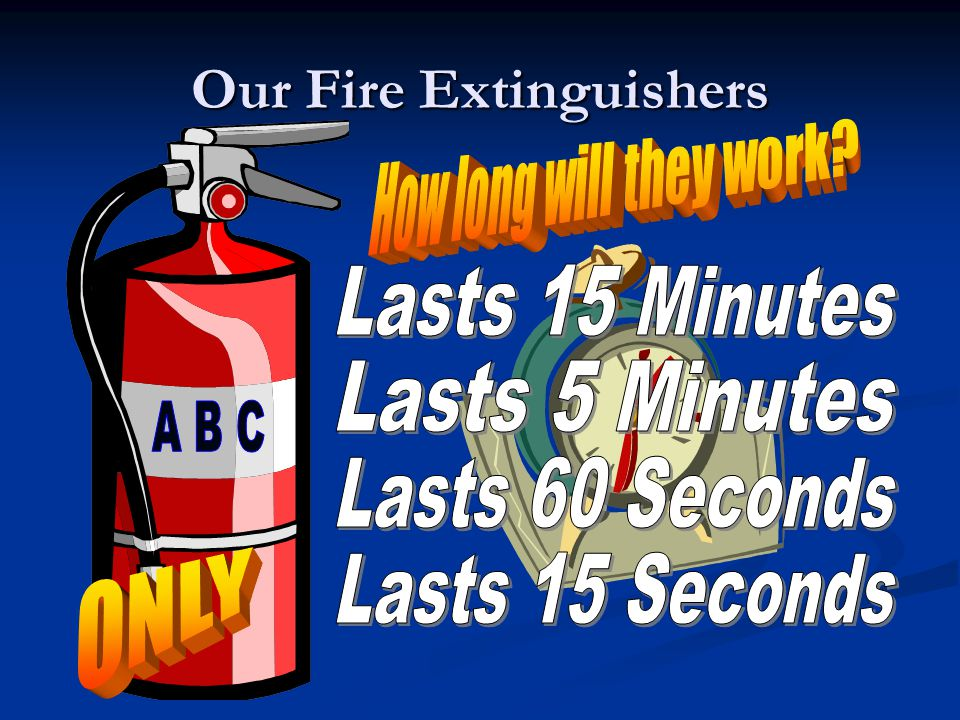 Our Fire Extinguishers