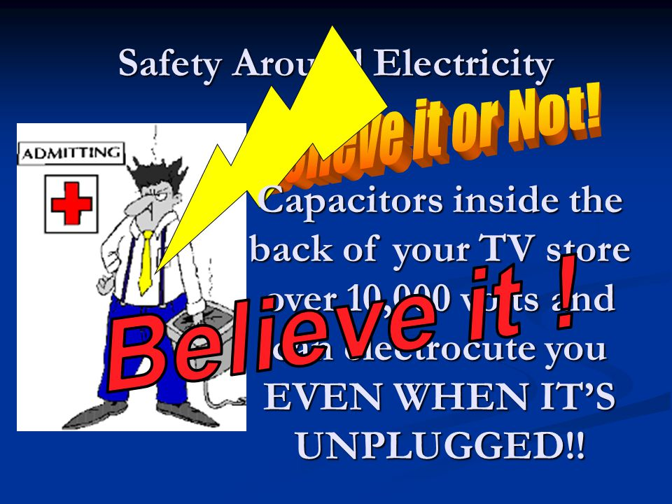 Safety Around Electricity