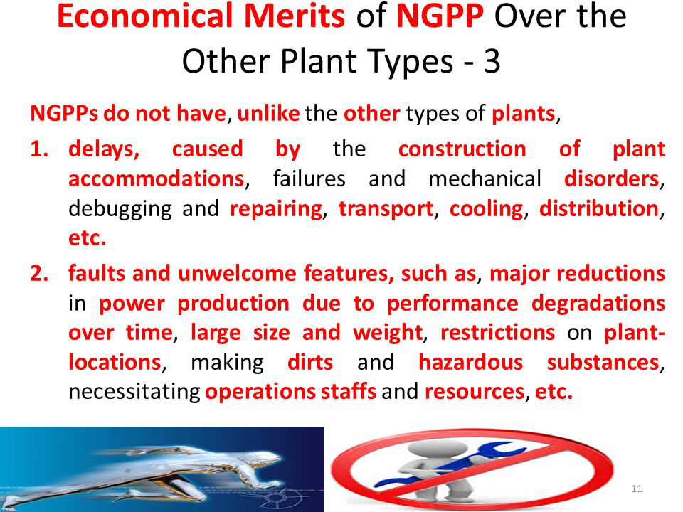 Economical Merits of NGPP Over the Other Plant Types - 3