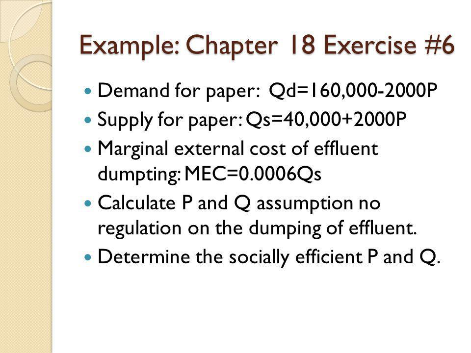 Example: Chapter 18 Exercise #6
