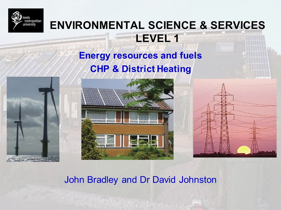 ENVIRONMENTAL SCIENCE & SERVICES LEVEL 1