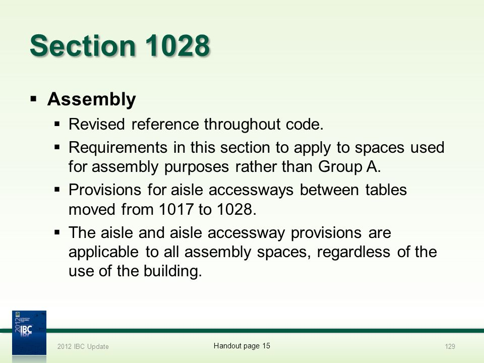 Section 1028 Assembly Revised reference throughout code.