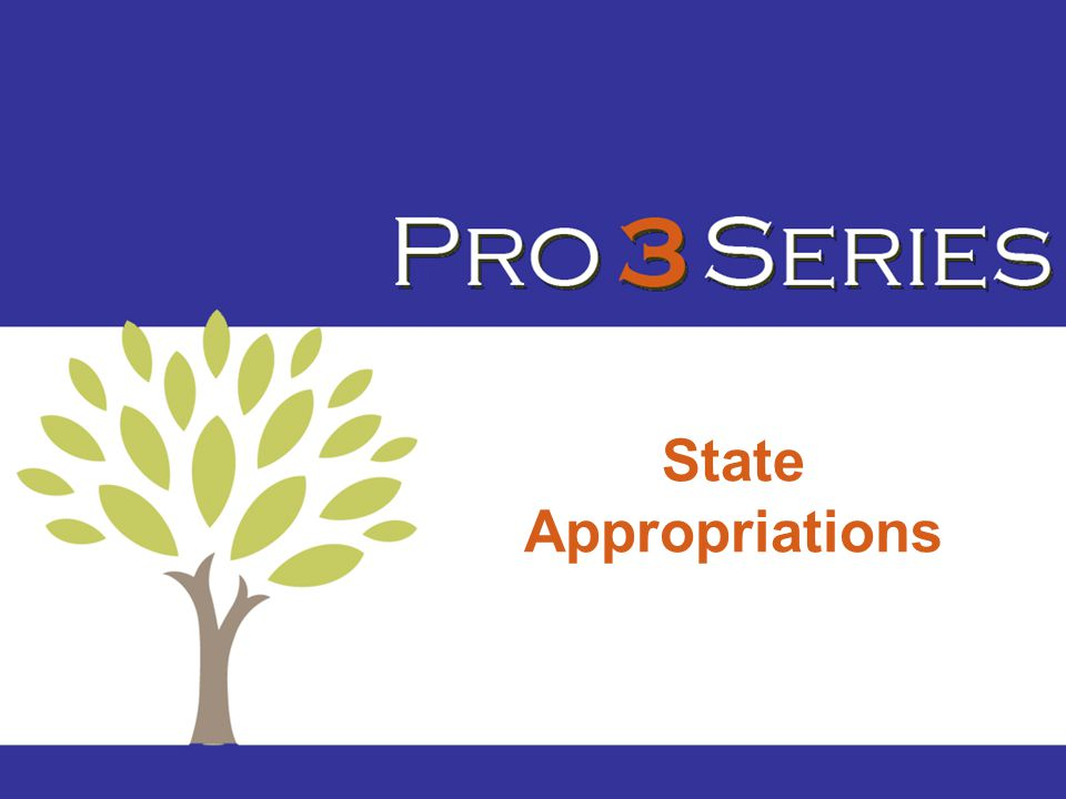 State Appropriations