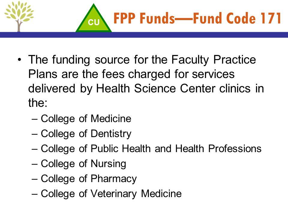 FPP Funds—Fund Code 171 CU.