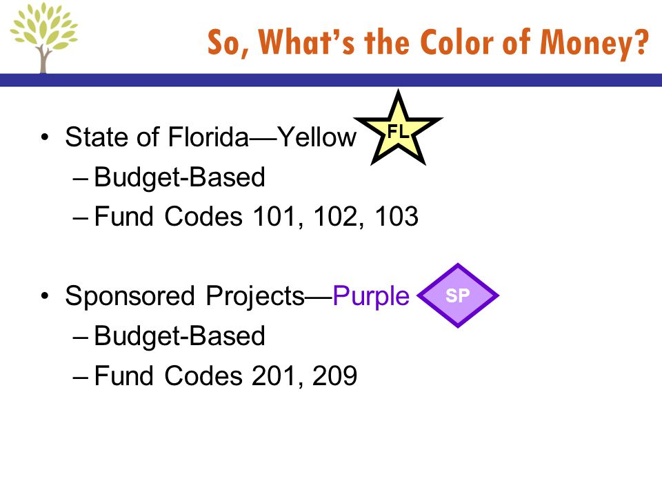 So, What's the Color of Money
