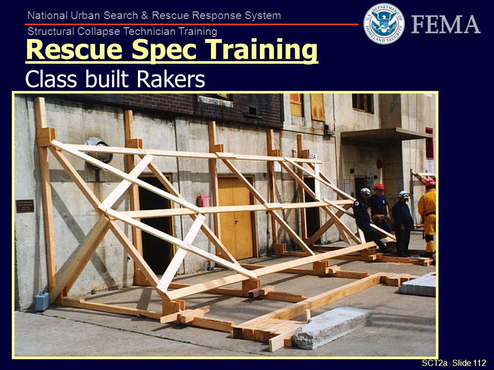 Rescue Spec Training Class built Rakers