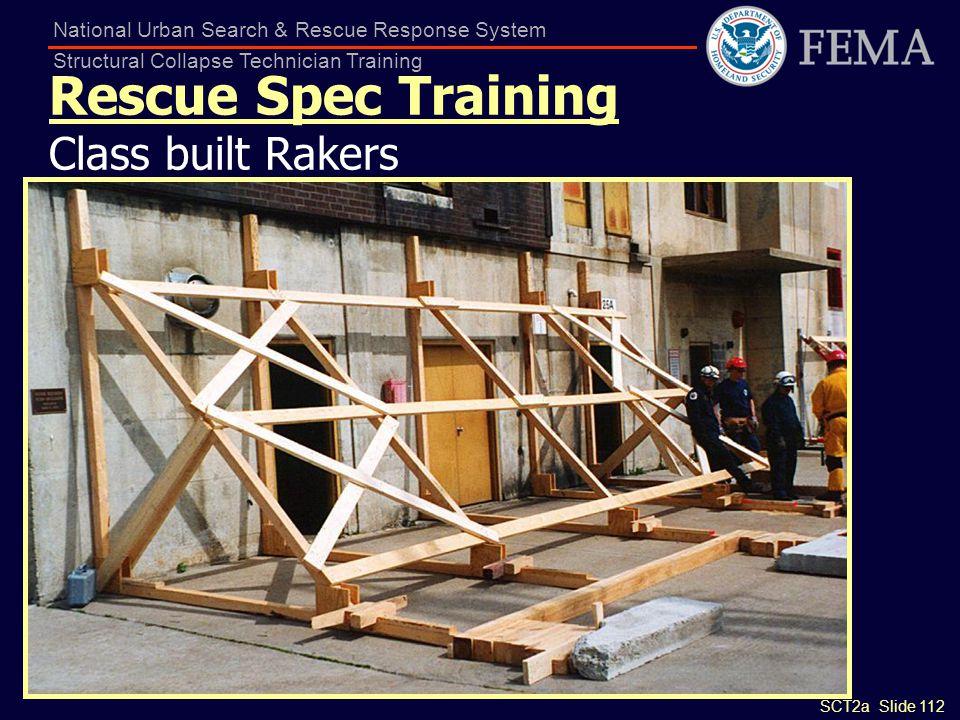 Rescue Spec Training Class built Rakers