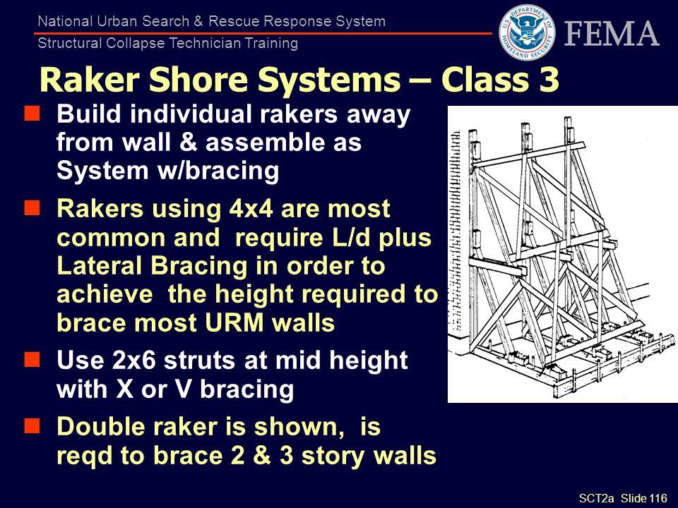 Raker Shore Systems – Class 3
