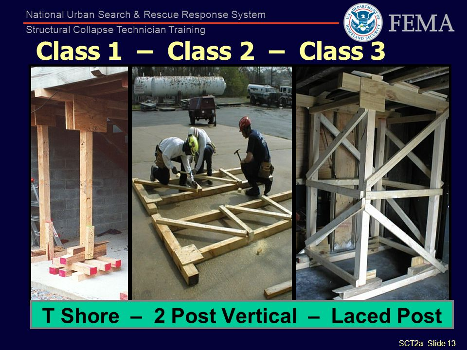 T Shore – 2 Post Vertical – Laced Post
