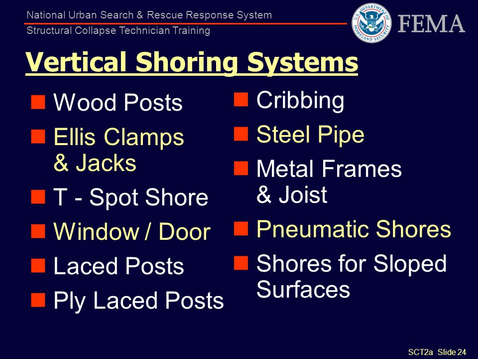 Vertical Shoring Systems