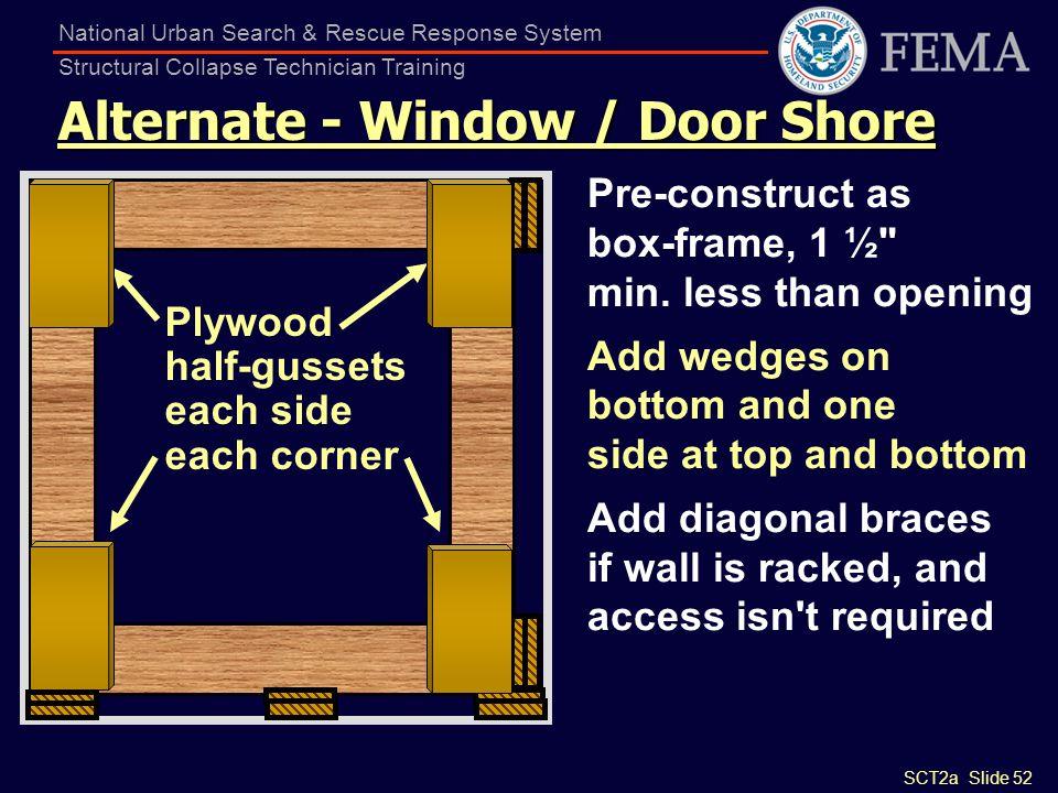 Alternate - Window / Door Shore
