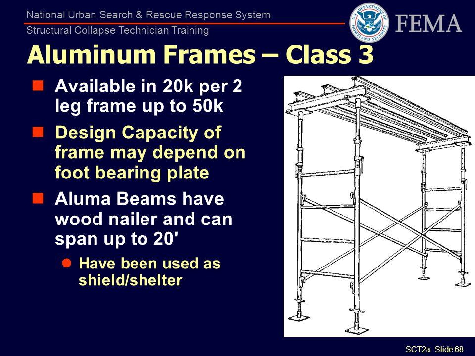 Aluminum Frames – Class 3