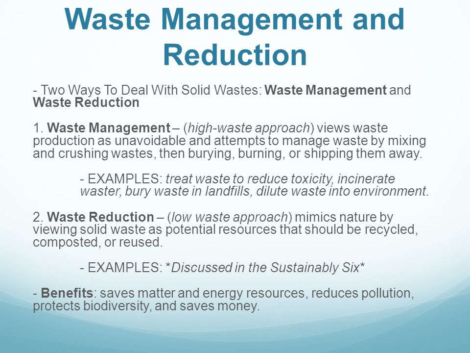 Chapter 17: Solid and Hazardous Waste - ppt video online ...