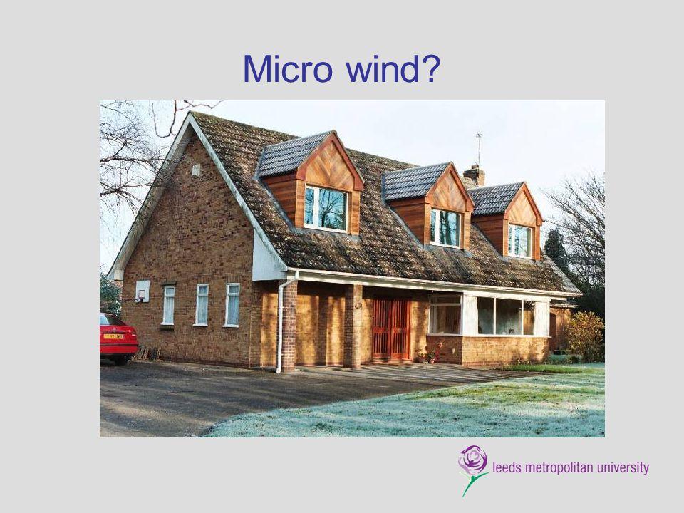 Micro wind