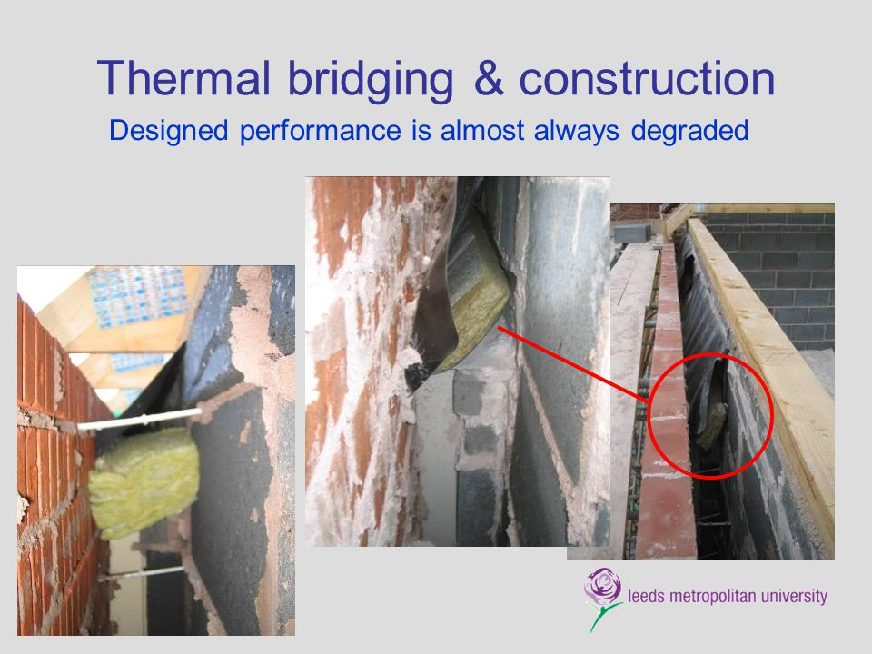 Thermal bridging & construction