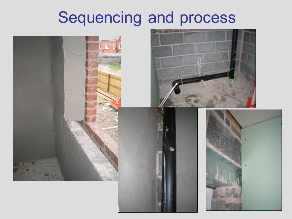 Sequencing and process