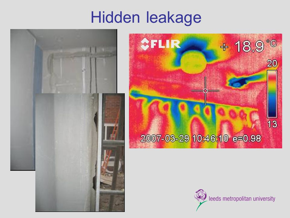 Hidden leakage