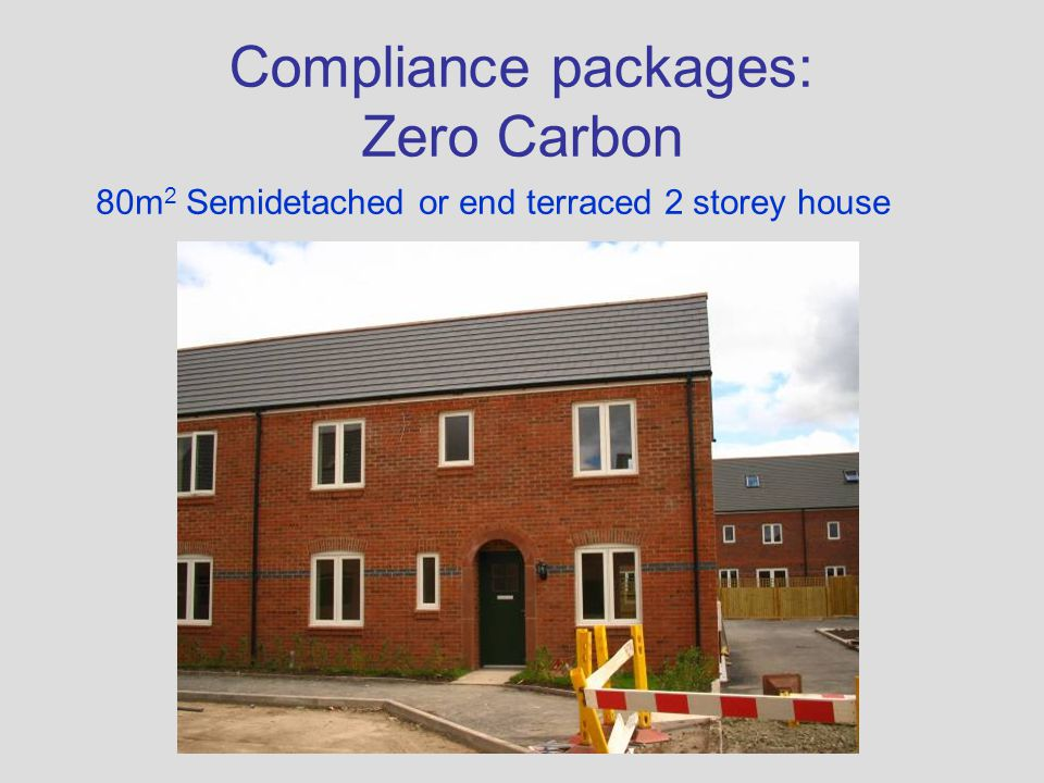 Compliance packages: Zero Carbon