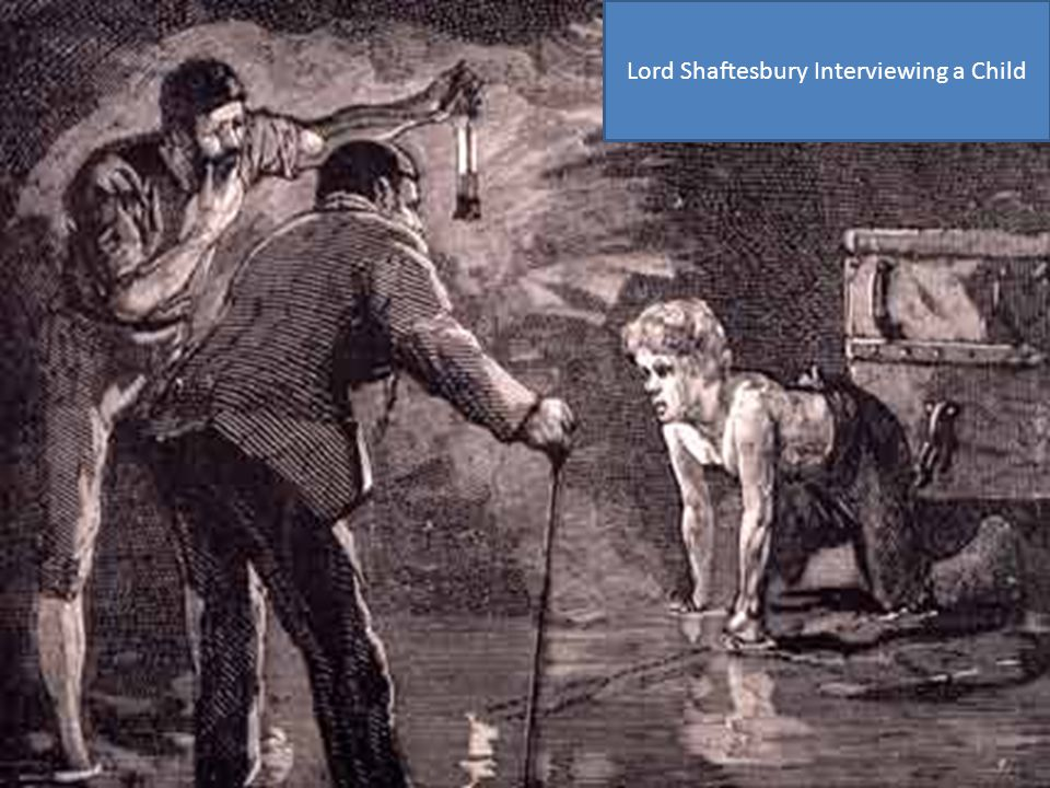 Lord Shaftesbury Interviewing a Child