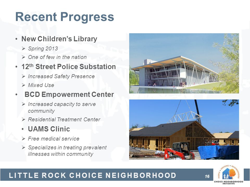 Recent Progress New Children's Library 12th Street Police Substation