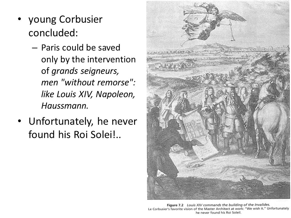 young Corbusier concluded:
